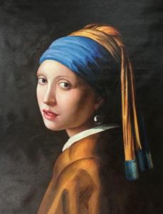 oli painting portrait