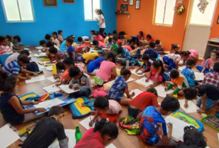 drawing classes chinmaya nagar 14