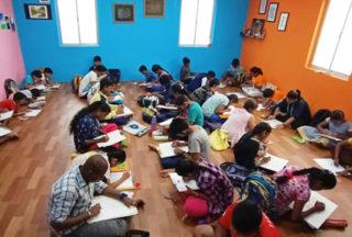 drawing classes chinmaya nagar 22