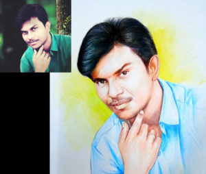pencil art artist chennai