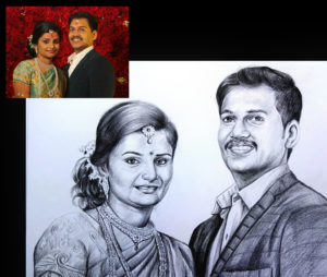 pencil drawing artist near to me