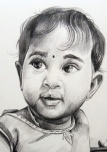 pencil drawing artist chennai 10