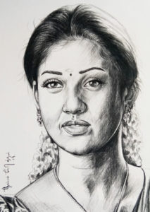 pencil drawing artist chennai 12