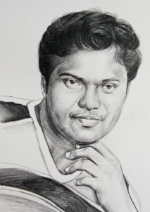 pencil drawing artist chennai 17