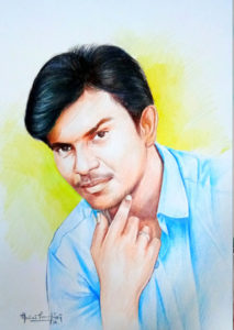 Pencil art, portrait, Pencil shading,  professional artist porur, chennai