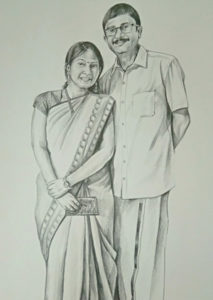 pencil drawing artist chennai 39