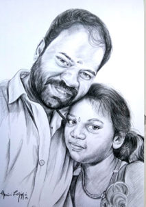 pencil drawing artist chennai 58