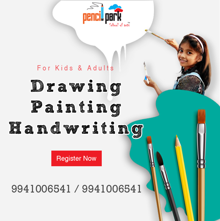 PENCIL PARK - ONLINE DRAWING, PAINTING, HANDWRITING PORUR, Kolapakkam, kattupakkam, poonamallee